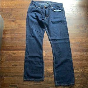 Banana Republic Mens Vintage Straight Jeans 34x32